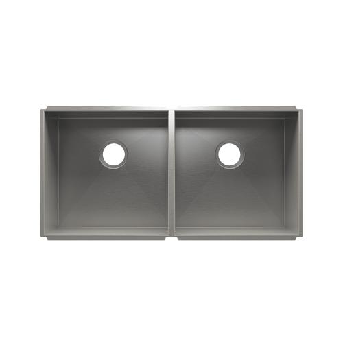 """UrbanEdge® 003642 - undermount stainless steel Kitchen sink , 18"""" × 18"""" × 10""""  18"""" × 18"""" × 10"""""""