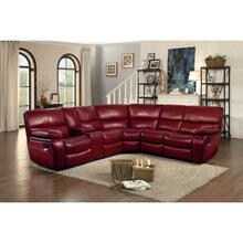 See Details - 3-Piece Modular Reclining Sectional with Left Console