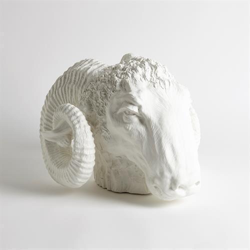 Capricorn Sculpture-Matte White