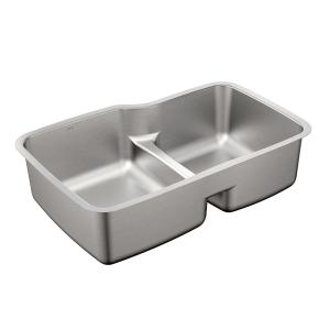 1800 Series 31-57/64x20-11/16 stainless steel 18 gauge double bowl sink Product Image