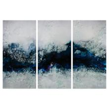 Mary Hong's Flowing River Triptych (Set of Three)