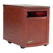Original SUNHEAT USA1500 Mahogany Infrared Heater