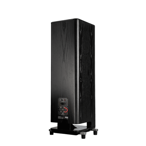 Polk Legend Series Premium Floorstanding Tower Speaker with Patented SDA-PRO Technology in L800 L Black Ash