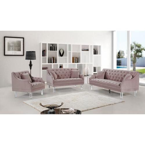 "Roxy Velvet Sofa - 78"" W x 32"" D x 35"" H"
