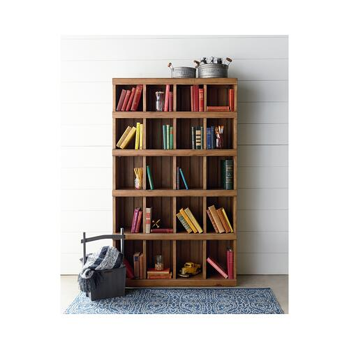 Gallery - Bench Classroom Cubby Bookcase