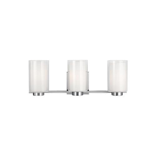 Bergin 3 - Light Vanity Satin Nickel
