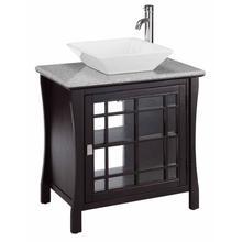 Petite Vanity Sink 1dr Square Basin