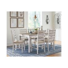 Skempton Table & 6 Chairs Two-tone