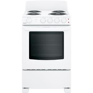 """HotpointHotpoint(R) 24"""" Electric Free-Standing Front-Control Range"""