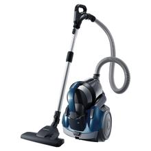 Twin-Chamber Bagless Canister Vacuum (Earth Blue)