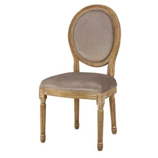 See Details - Round Maxwell Side Chair (chantel Ash)
