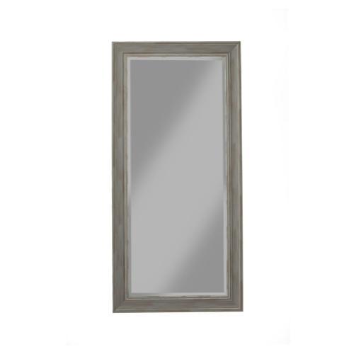 Antique Grey Farmhouse Full Length Leaner Mirror - Antique Grey