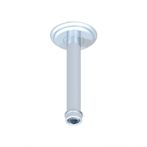 Vertical Shower Arm & Flange Ceiling Mounted 1/2