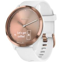 v vomove® HR Sport (Rose Gold with White)