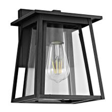 Stern Outdoor Wall Lantern - Black