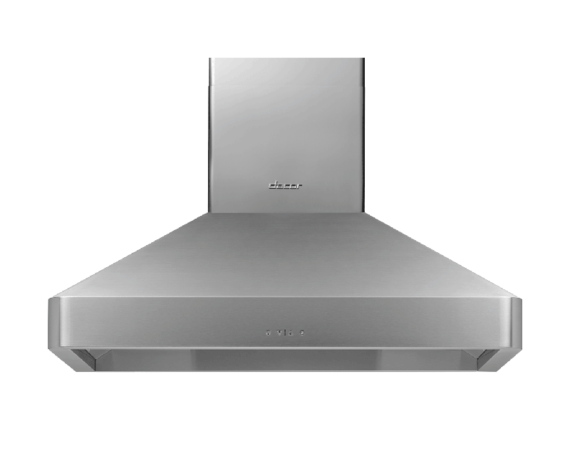 """42"""" Chimney Wall Hood, Silver Stainless Steel"""