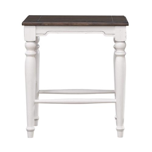"""French Chic 24"""" Backless Stool"""