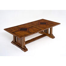 Mustang Canyon Timber Frame 7-13'extension Table - 8-11′