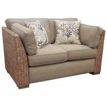 Loveseat, Available in Antique Palm or Banana Finish.