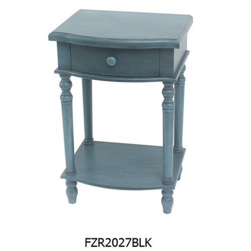 """Product Image - 17.2513.5X25.75""""H BLUE SIDE TABLE,1 PC PK/ 2.05'"""