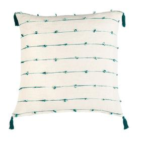 Kingsly Pillow - Beige / Teal