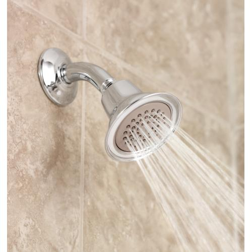 "Moen Oil rubbed bronze one-function 3-1/2"" diameter spray head eco-performance showerhead"