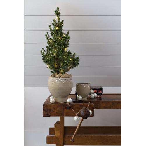 """Accent Decor - Milky Ornament Garland (Size:72"""", Color:White)"""