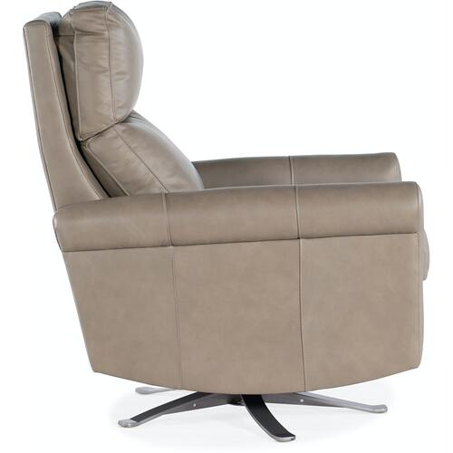 Bradington Young Kacey Swivel Chair with Metal Base 3101-SW