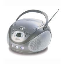 Portable Stereo MP3/CD Player with AM/FM Radio