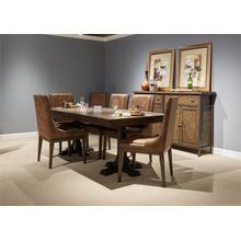 View Product - 7 Piece Trestle Table Set