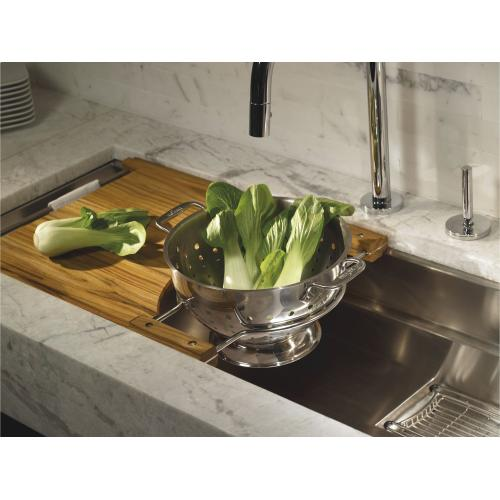 """45"""" Stainless Steel Kitchen Sink with Deluxe Accessories"""