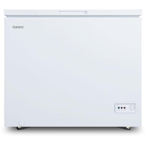Galanz 7-Cu. Ft. Manual Defrost Chest Freezer in White