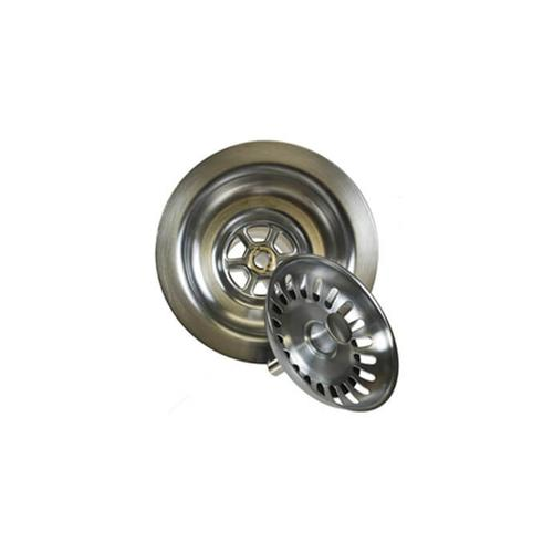 """Mountain Plumbing - Classic - 3-1/2"""" Deluxe Stemball Kitchen Sink Strainer - PVD Brushed Bronze"""