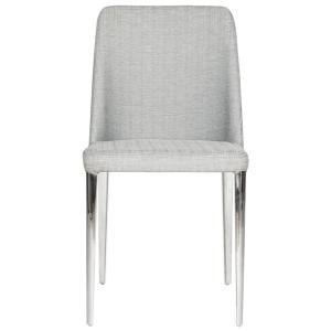 Baltic 18'' H Linen Side Chair - Linen Grey