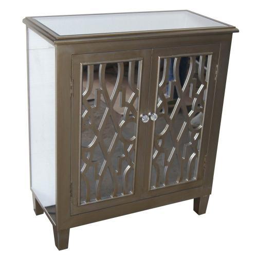 Mirror Cabinet Silver
