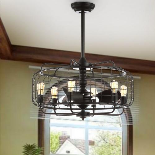 Safavieh - Larsin Ceiling Light Fan - Black