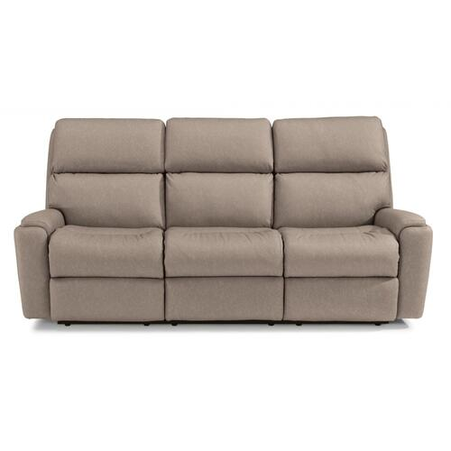 Fabric Power Reclining Sofa with Power Headrest *Harkness Exclusive*