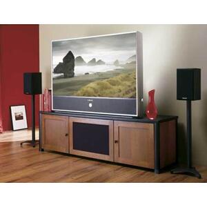 "Black Euro Series 28"" tall for small to medium bookshelf speakers"
