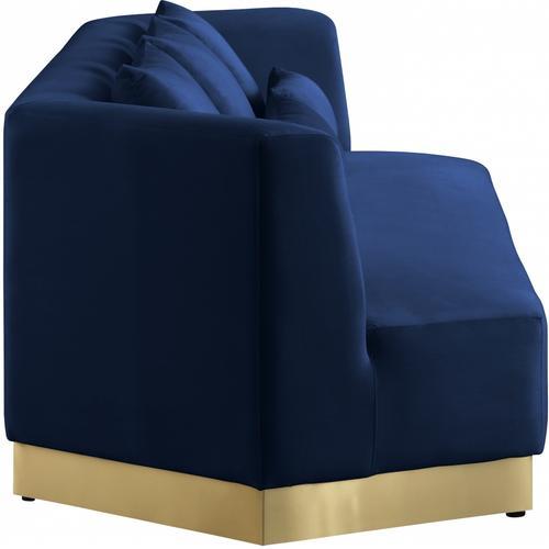 "Marquis Velvet Sofa - 93"" W x 38"" D x 29"" H"