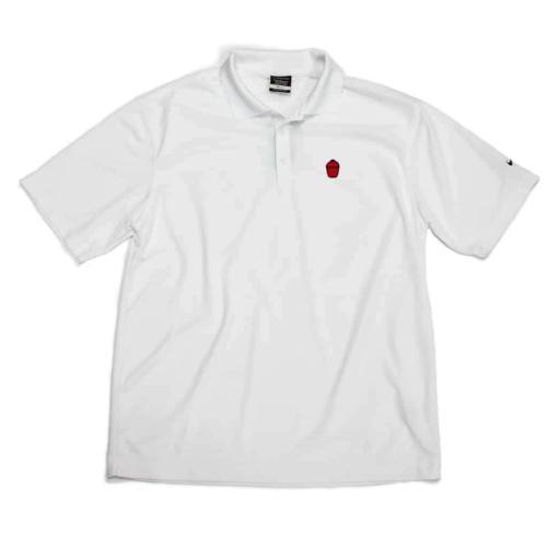 Nike Grill Icon Golf Shirt - Men's White - Large