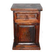 See Details - Dark 1 Door 1 Drawer Night Stand