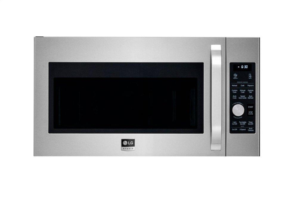 STUDIO 1.7 cu. ft. Over-the-Range Convection Microwave Oven Photo #1