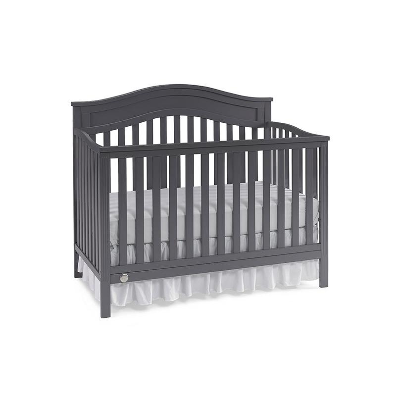 View Product - Fisher-Price Aubree Convertible Crib, Stormy Grey