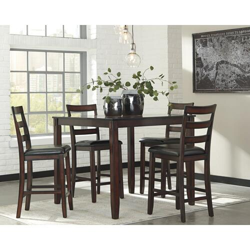 Coviar DRM Counter Table Set Brown
