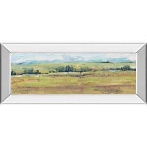 """Distant Treeline Panel II"" By Tim Otoole Mirror Framed Print Wall Art"