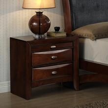 Emily Contemporary solid wood construction Night Stand
