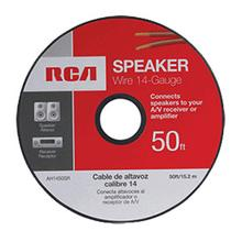 View Product - RCA 50 Ft. 14-Gauge Speaker Wire