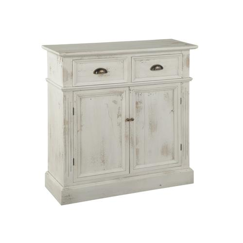 Marketplace Rustic White Door & Drawer Cabinet