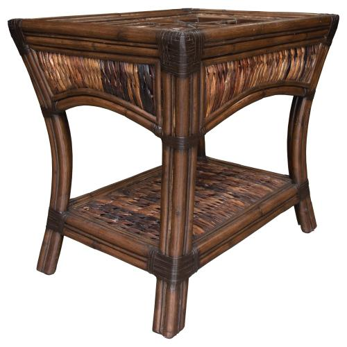 Lamp Table, Available in Seagrass Finish.