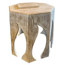 Bengal Manor Flame Hexagon Side Table